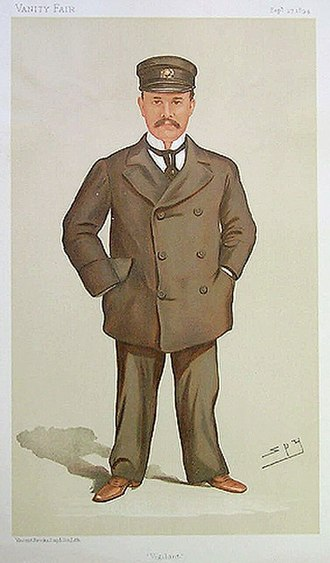 George Jay Gould I - Image: George Jay Gould Vanity Fair 27 September 1894