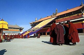 Ngawa Tibetan and Qiang Autonomous Prefecture - Kirti Gompa