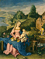 German - Virgin and Child in a Landscape - Walters 37383.jpg