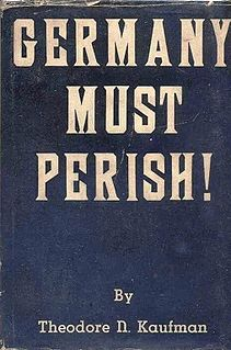 <i>Germany Must Perish!</i> book