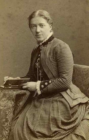 Gertrude Guillaume-Schack - Gertrude Guillaume-Schack in 1867