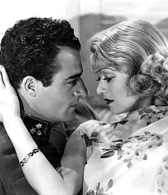 Gilbert Roland - with Constance Bennett in After Tonight (1933)