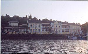 Goa Institute of Management - GIM view from River Mandovi