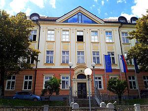 Novo Mesto Grammar School - Image: Gimnazija hiša