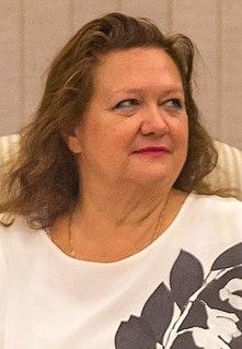 Gina Rinehart Australian businessperson
