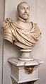 Giovanni bandini e bottega, busto di francesco maria II della rovere, 1590 ca, restaurato dal foggini nel 1691.JPG