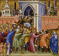 Giovanni di Paolo - Christ on the Way to Calvary - Walters 37489B.jpg
