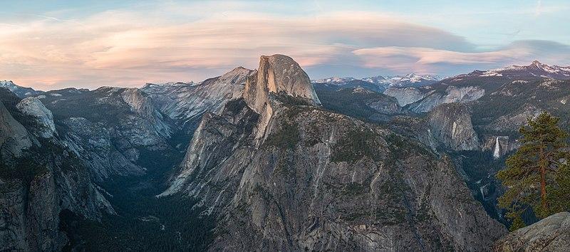 File:Glacier Point at Sunset, Yosemite NP, CA, US - Diliff.jpg