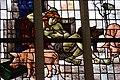Glas-in-loodraam van Joep Nicolas in de Oude Kerk te Delft (Nederland).jpg