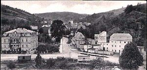Glashütte - Glashütte around 1910