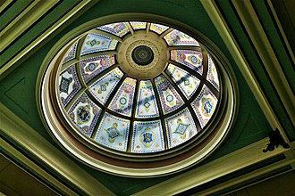 Macclesfield - Town Hall glazed dome