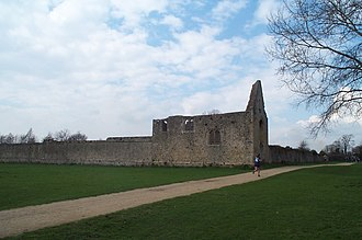 Godstow - Image: Godstow Nunnery ruin 20050326