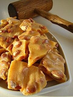 Brittle (food) confection