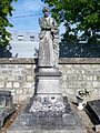 Gonesse (95), cimetière, rue du Thillay, sépulture Madeleine Rouget, 1910.jpg