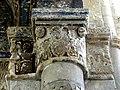 Gournay-en-Bray (76), collégiale St-Hildevert, chœur, 3e grande arcade du sud, chapiteau côté ouest 1.jpg