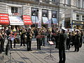 Graben Polizeikonzert Vienna October 2006 002.jpg