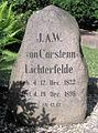 Grabstätte Hindenburgdamm ggü 109 (Lichf) Johann Anton Wilhelm von Carstenn.JPG