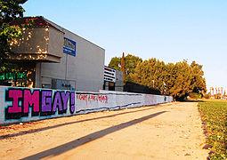 Graffiti in Montclair