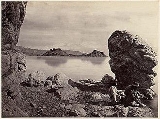 Ezion-Geber - Isle of Graia (Pharoan Island), Gulf of Aqaba, Near Ezion-Geber, Port of King Solomon