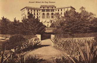 Saint-Jean-Cap-Ferrat - The historic Grand Hotel in 1908