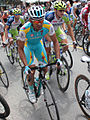 Grand Prix Cycliste de Québec 2012, Simone Ponzi & Ted King (7954885214).jpg