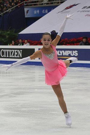 Adelina Sotnikova at the 2010-2011 ISU Junior ...