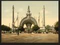 Grand entrance, Exposition Universal, 1900, Paris, France-LCCN2001698563.tif