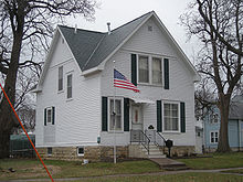 Grant Wood Boyhood Home, Cedar Rapids, Iowa, Listed As One Of The Most  Endangered Historic Sites In Iowa.