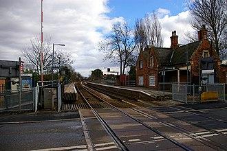 Great Coates railway station - Image: Great Coates Station