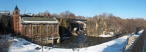 Great Falls of the Passaic River in Paterson, ...
