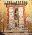 Greek master The Grave of St Spiridon 17th cent Eger IMG 0468 serb museum szentendre.JPG