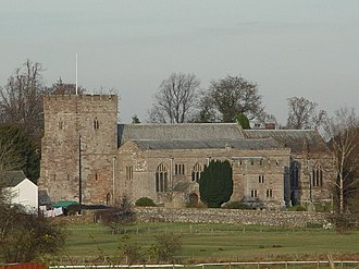 Listed buildings in Greystoke, Cumbria - Image: Greystoke Church geograph.org.uk 81205