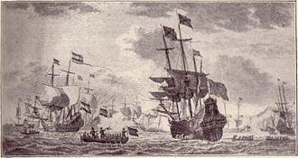 Battle in the Bay of Matanzas - Piet Hein capturing the Spanish silver fleet