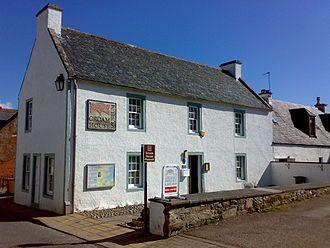 Groam House Museum - Exterior of Groam House Museum, Rosemarkie