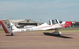 Volunteer Gliding Squadron - Image: Grob g 109b vigilant t 1 of raf at riat 2010 arp