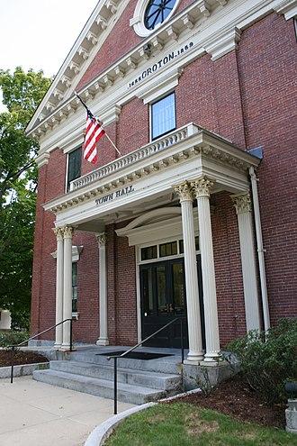 Groton, Massachusetts - Town Hall