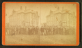 Group portrait in front of an office building, from Robert N. Dennis collection of stereoscopic views.png