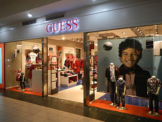 Guess (clothing) - Guess store in the Philippines