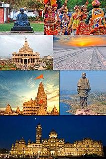 Gujarat State in western India