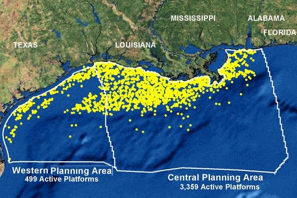 Gulf Coast Platforms