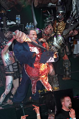 Gwar - Abuse of George Bush character – live at Reds, Edmonton