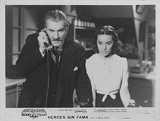 <i>Héroes sin fama</i> 1940 film by Mario Soffici