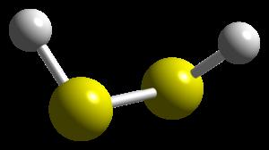 Hydrogen disulfide - Image: H2S2 CM 3D balls