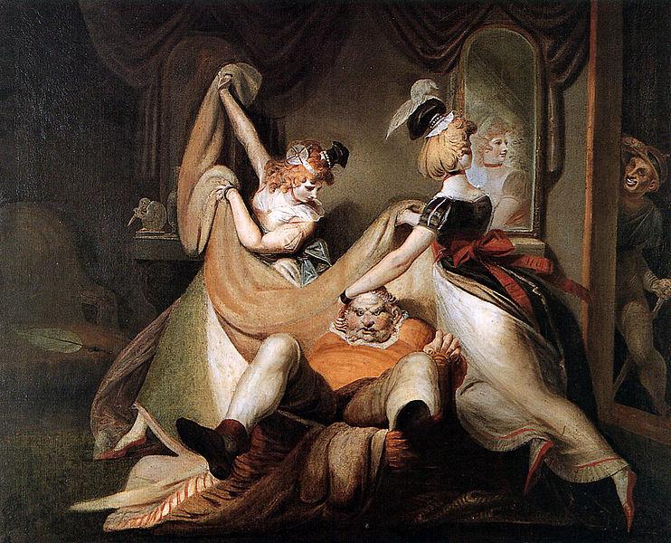 File:HEINRICH FÜSSLI - Falstaff en la cesta (Kunsthaus, Zúrich, 1792).jpg