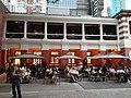 HK Central night 舊中區警署 Ex-Central Police Station 奧卑利街 Old Bailey Street footbridge 荷李活道 Hollywood Road 大館 Tai Kwun 中庭廣場 square November 2019 SS2 16.jpg
