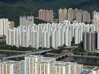 Private housing estates in Sha Tin District - Overview of City One
