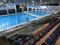 HK new Kwun Tong Swimming Pool interior 觀塘游泳池 night Dec-2013.JPG