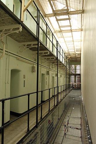 HM Prison Shepton Mallet - A wing, 2018
