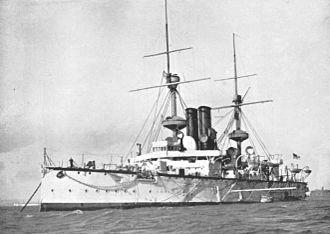 HMS Centurion (1892) - Image: HMS Centurion 1892