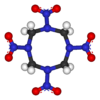 Ein Sprengstoff oder auch Explosivmittel ist eine chemische Verbindung oder eine Mischung chemischer Verbindungen, die unter bestimmten Bedingungen sehr schnell reagieren und dabei eine relativ große Energiemenge in Form einer Druckwelle (oft mit Hitzeentwicklung) freisetzen kann.
